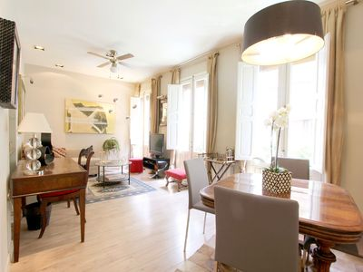 Photo for Cozy and elegant apartment 1H / 1,5B in Golden Mile of the Barrio de Salamanca
