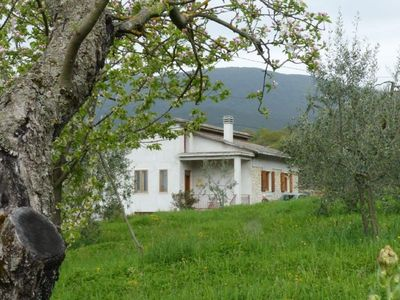 Photo for Rural apartment on ground floor with terrace and orchard.