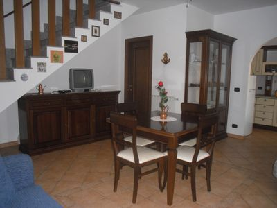 Photo for Elegant villa on two levels a short walk from the sea and 25 minutes from San Pietro