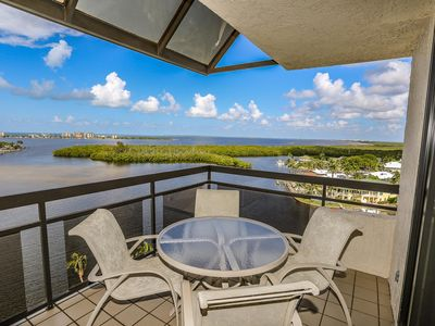 Photo for 2 bedroom, 2 bath top floor condo with incredible panoramic views