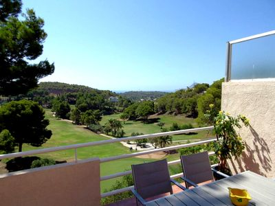 Photo for Overlooking the sea and the golf course from Altea (la Vella)