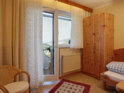 Photo for Panoramic view single room 2 adults. + 1 child up to 12 years - Biolandhaus Arche