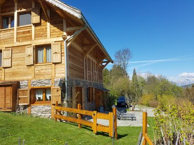 Photo for chalet in the mountains. 3 * apartment of 35m² with terrace