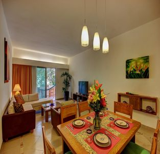 Photo for Centro Condo 32 Riviera two bedroom garden
