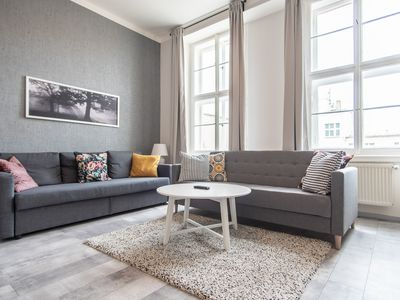 Photo for Play Board Games  At This Wenceslas Sq. Loft with luggage room  by easyBNB