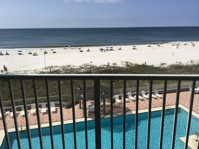 Photo for Gorgeous Spectacular Gulf Front 3 BR/ 2 Bath, Sugar Sands WC 405