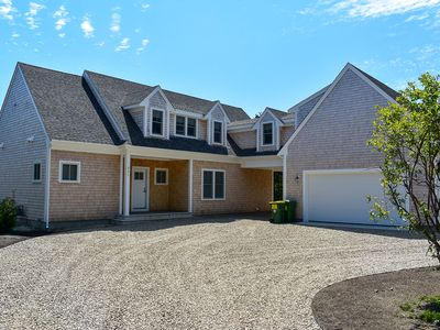 Photo for New Shingle Style 4 BR - walk to Beach on 2 acres