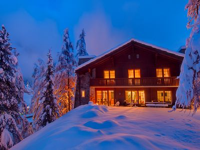Photo for A Beautiful Family Chalet And Possibly One Of Zermatt's Best Kept Secrets!