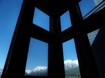 Photo for Two Adjacent Lofts (4 Brs): Huge windows, views, parkpass, hot tub, wifi!