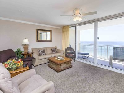 Photo for BEACHFRONT CONDO! Gulf Front Master 1/2 Luxury Condo located near Pier Park!