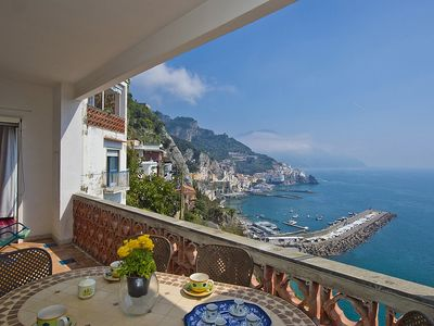 Photo for Casa Costabella: A cozy and welcoming apartment located on the high coast in front of the sea, with Free WI-FI.