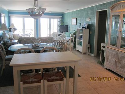 Photo for Beach Front -Bright and Breezy-2 Br 2Ba Waterview