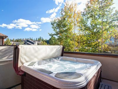 Photo for New Remodel! Private 5P Hot Tub, Walk to Lifts & Town, Private Garage, HS WiFi