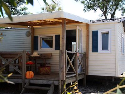 Photo for Camping Les Palmiers **** - Mobile home Evasion 3 Rooms 4 Persons