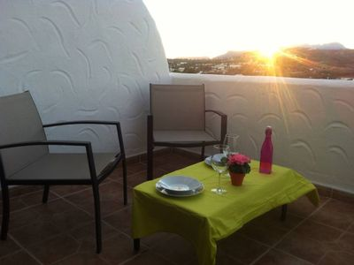 Photo for Renovated apartment with large communal pool and beautiful views. 5 minutes to Moraira and its beaches
