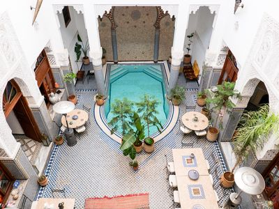 Photo for Beautifull rooms for 2 personns in riad of Fez - Medina, Fez el Bali