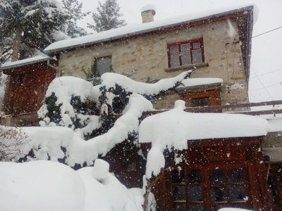 Photo for Chalet Zornica is a 250 old stone mountain house.Breathtaking view.Beautiful