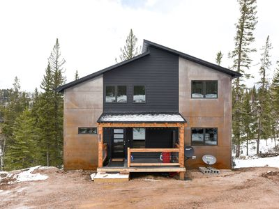 Photo for One-Of-A-Kind New 5BR Cabin Near Terry Peak with Hot Tub and Great View!!!