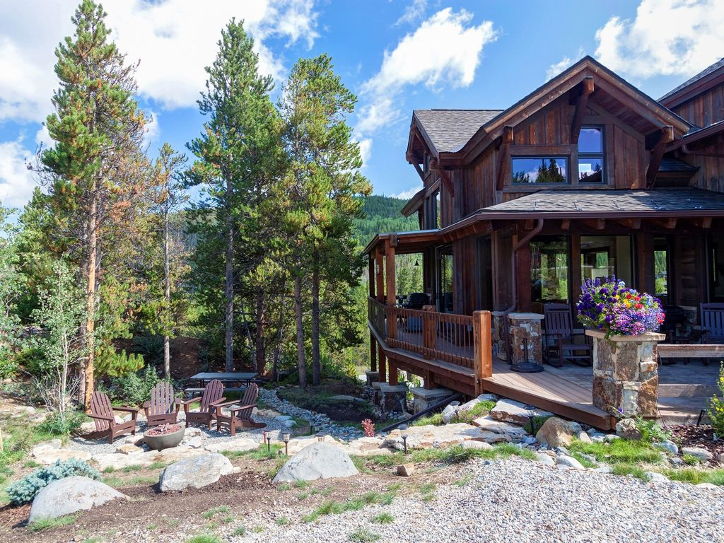 Luxury mountain home now taking reservations for spring for Mountain luxury