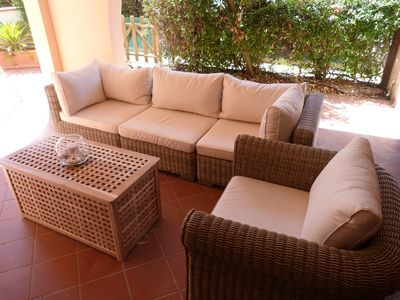 Photo for Mediterranean Holiday Apartment with Garden and Beautiful Terrace