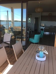 Photo for Arcachon Apartment with incredible SEA view! Sea Front WITH TERRACE 4 PERS