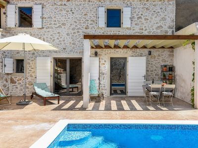 Photo for Beautiful Villa Dvori, in Nin, with a Pool
