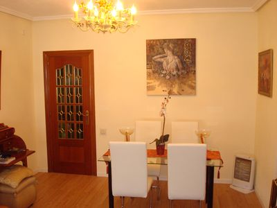 Photo for Apartment 2 bedrooms, 2 bathrooms in marble, bright and quiet with elevator