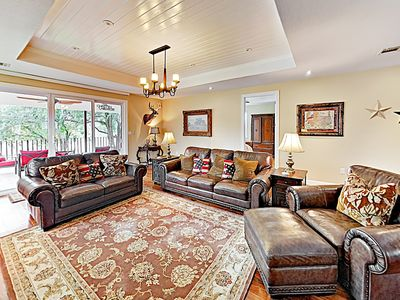 Photo for New Listing! Modern Lakefront Beauty w/ Private Dock, Lift & Boat Launch