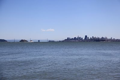 breath-taking views of San Francisco, Alcatraz and Angel Island from Old Town