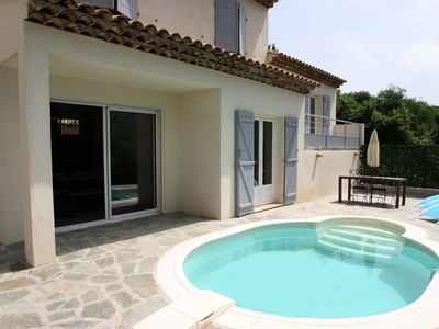 Photo for Personal house with pool 9 miles from Nice