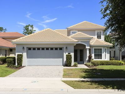 Photo for 3/3, Private Pool/Spa, Grill, 6mi from Disney, FREE Waterpark Access, Quiet