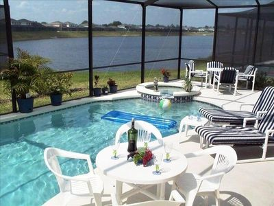 Photo for Pool Home -Sleeps 6-14  Lake View  Located in the Disney Area!