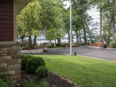 Photo for One House from the Lake, Lake Views, on Association Park, Diving Board & Slide!