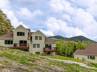 Photo for NEW: ON THE TRAIL at Black Mountain! 3 BR, Central AC, Wifi, Mountain Views!