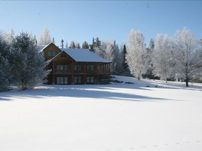 Photo for Exquisite  Ski House on Vast Trail with Hot Tub, Sauna and Huge Game Room.