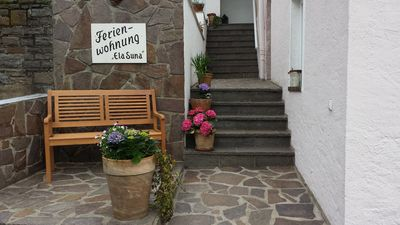 """Photo for Apartment on the edge of the forest with terrace near the vineyards! """"Rheinsteig"""""""