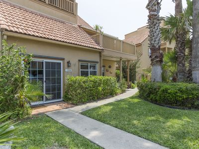 Bayside Condo with Boat Slip! Sparkling Pool, Water Views from Patio and Walking Distance to Beach!