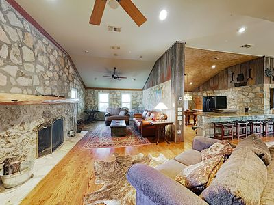 Photo for New Listing! The Cien Encinos: 2 Houses on the Blanco River