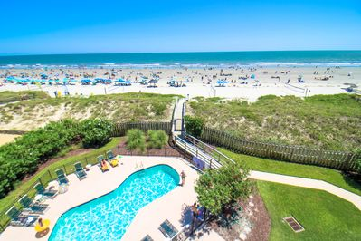 LUXURY OCEANFRONT CONDO on IOP FRONT BEACH