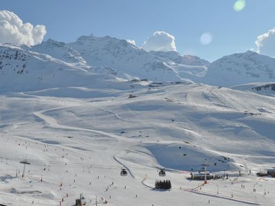 Photo for 35m2 - 5 per. Departure skis to the feet - 1 mn. view South exception - Loc Dim au Sun