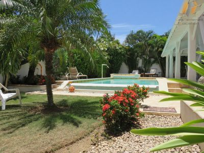 Photo for VILLA 150M Beach / Pool-Jacuzzi / Downtown / Wifi