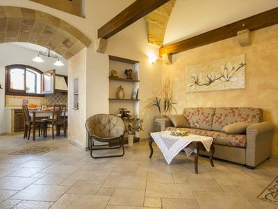 Photo for Refined and authentic house in the Salento village a stone's throw from the sea
