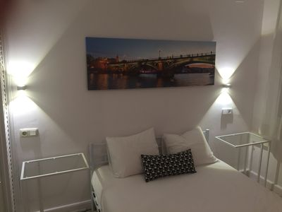 Photo for Double room with bathroom 4.  In 2-bedroom apartment