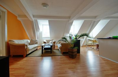 Photo for Friendly fully equipped 95sqm apartment in the center of the old town!