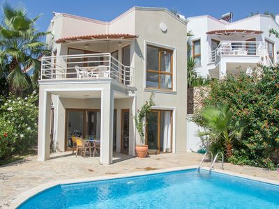 Photo for Villa with Private Pool, Sea and Mountain Views