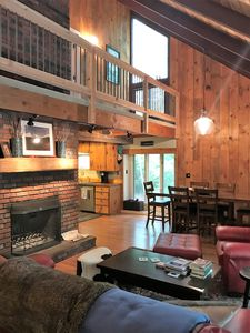 Photo for Private, wooded in-town location with direct access to hiking / biking trails