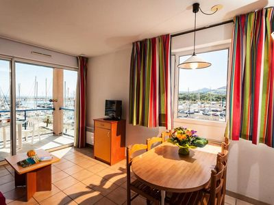 Photo for Residence Sea and Golf Port Argelès *** - 2 Rooms 4 People - Port side