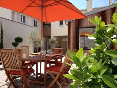 Photo for Deauville, Full City Center. Beautiful Renovated House with a very Large Terrace