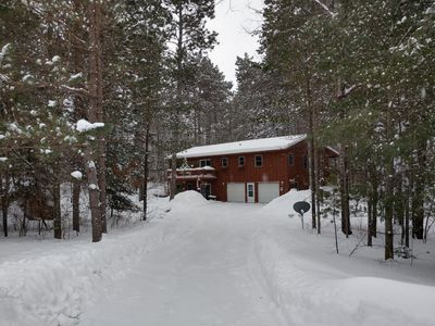 Photo for Lake Country Home in the Pines Beckons You To Come Relax and Enjoy!