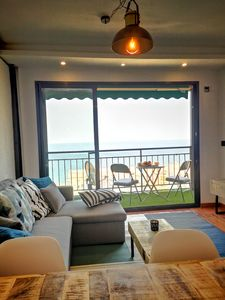 Photo for 15% DISCOUNT !!! FLAT WITH SEA VIEWS, POOL, PARKING AND FREE WIFI